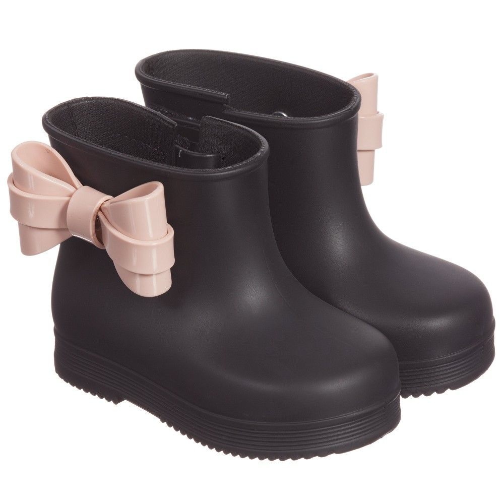 Melissa Soldier Platform Ankle Boots in Black   Lyst