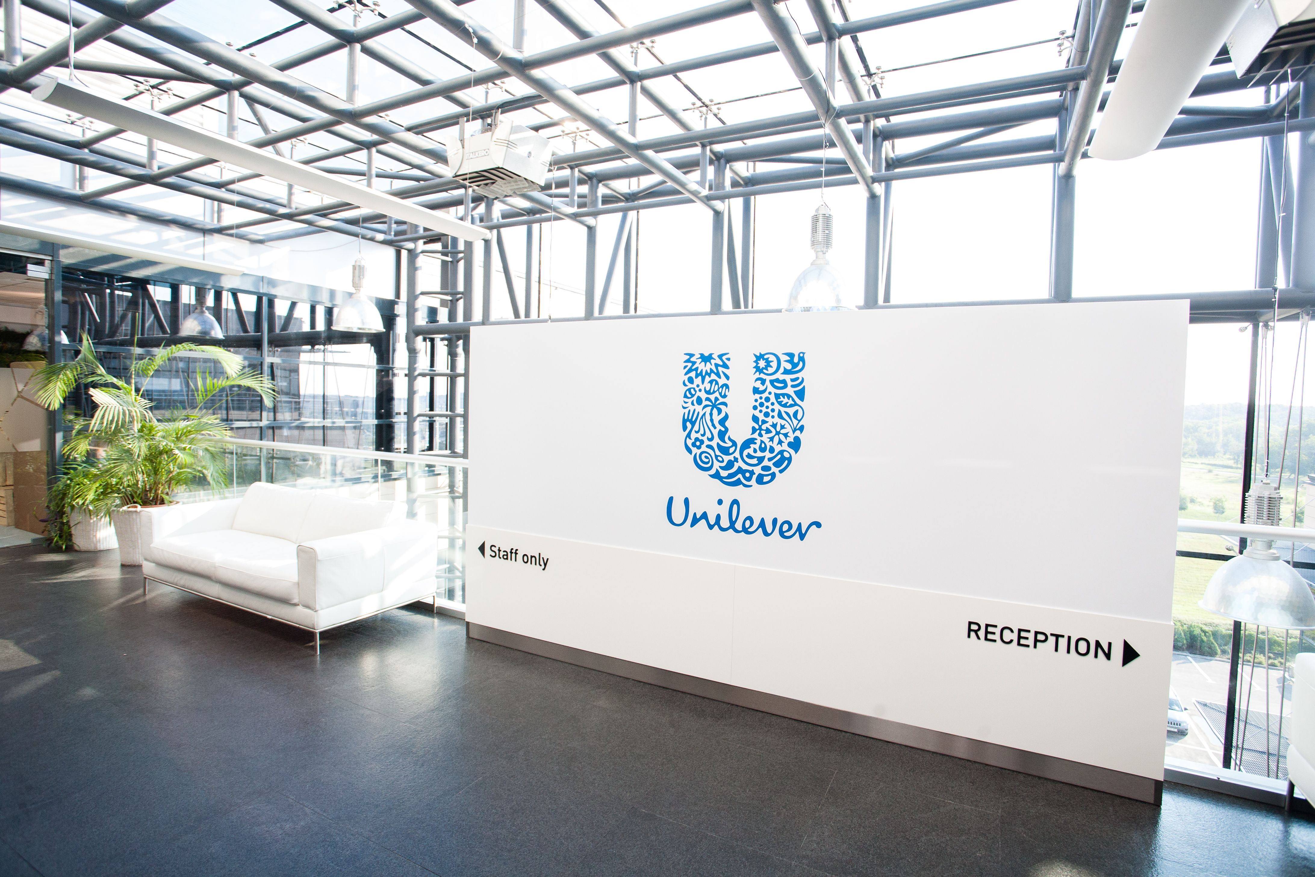 unilever office. Reception Unilever Office Interior Design Bucharest