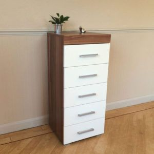 Genial Narrow Bedroom Chest Of Drawers