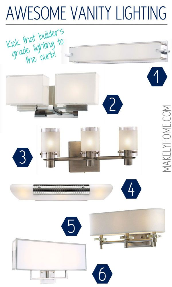 up of contemporary and modern bathroom lights we 12448