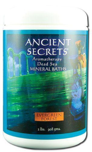 Ancient Secrets Bath Salts Evergreen Forest 2 Pounds Granule by Ancient Secrets. $14.04. Serving Size:. 2 Pounds Granule. Now you can experience the relaxing and soothing benefits of aromatherapy while obtaining the legendary therapeutic effects of the world famous Minereal Baths from the Dead Sea. Doctors have long recommended bathing in it to ease muscle soreness. joint stiffness and aid in treating skin conditions. fine grain dissolves easily safe for use in hot tu...