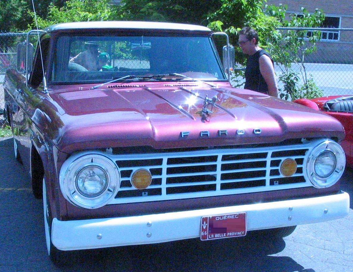 1966 fargo made in canada not a dodge clone look pattened