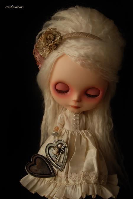 Melacacia blythe the real life ii blythe dolls dolls y memories - Rubio platino en casa ...