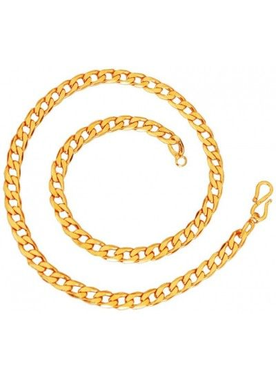 Mens jewellery royal good looking gold cable design chain mens buy designer fashionable gold plated chain for you we have a wide range of traditional modern and handmade short mens chains online aloadofball Images