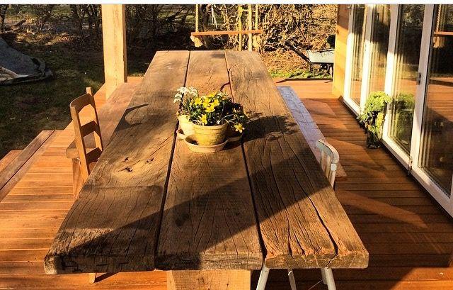 #plankebord #upcycling # bæredygtig # signewenneberg #sommerdrømmehuser #danishdesign