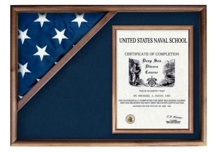flag display cases from military | handmadebyveterans - burial flag ...