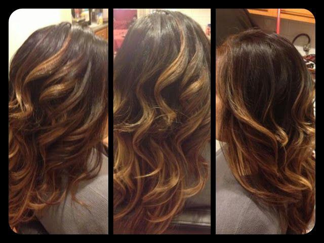 Pin By Jennifer Hoodjer On High Low Lights Pretty Brown Hair Hair Stylish Hair