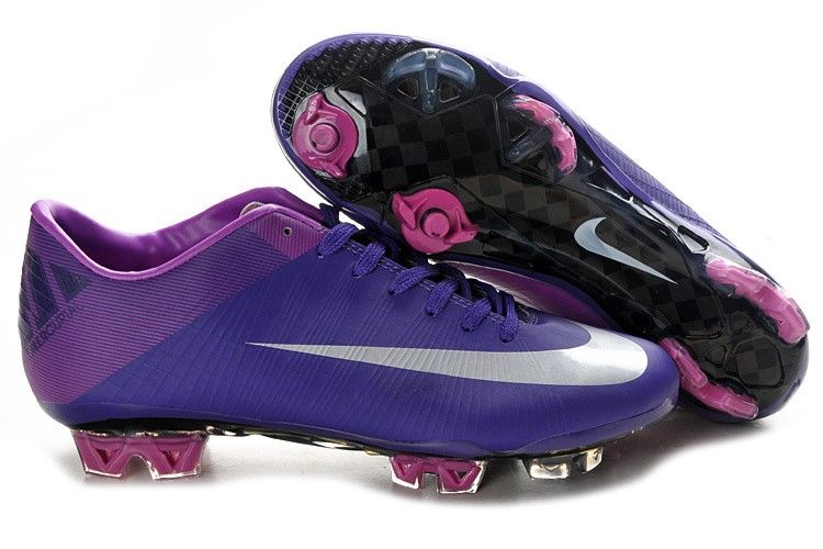 Nike Mercurial Vapor Superfly Iii Fg Soccer Cleats Purple Silver Nike Soccer Shoes Adidas Soccer Boots Soccer Shoes
