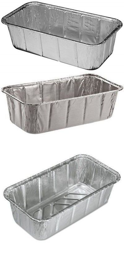 Handi Foil 2 Lb Aluminum Loaf Bread Pan 500pk Disposable Baking