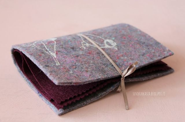 Suvikukkasia #neulakirja #book for #needles #sew #DIY