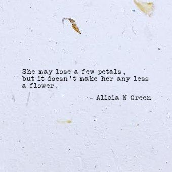 A Flower Typewriter Poem By Alicia N Green Inspirational
