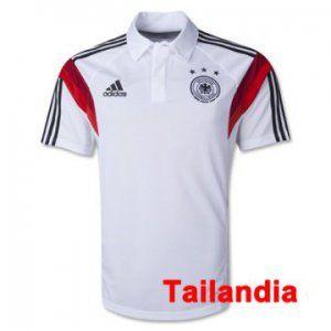 Camisetas POLO Alemania blanco baratas 2014 2015 tailandia