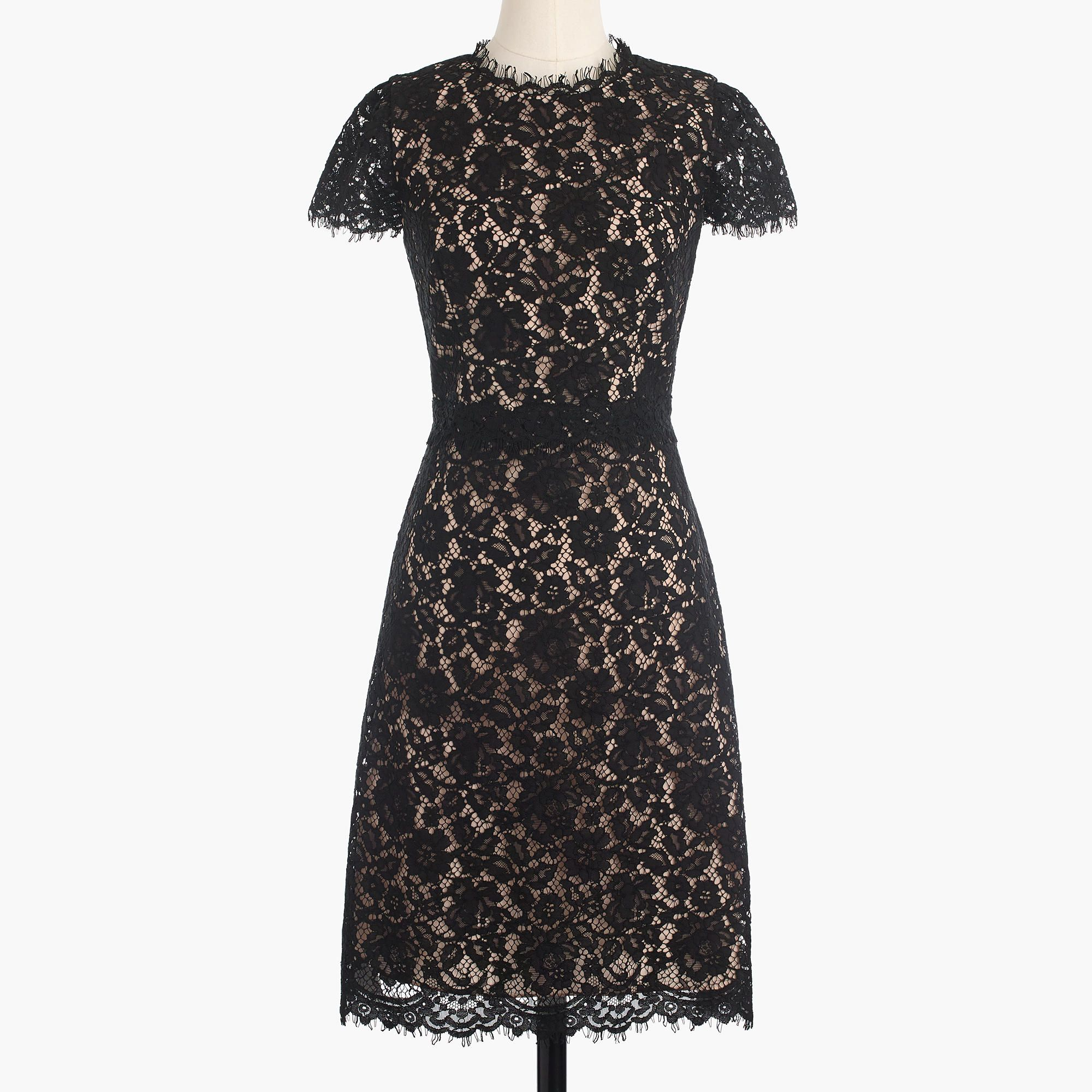 J crew black lace dress  Collection lace fitandflare dress  Collection Special occasion