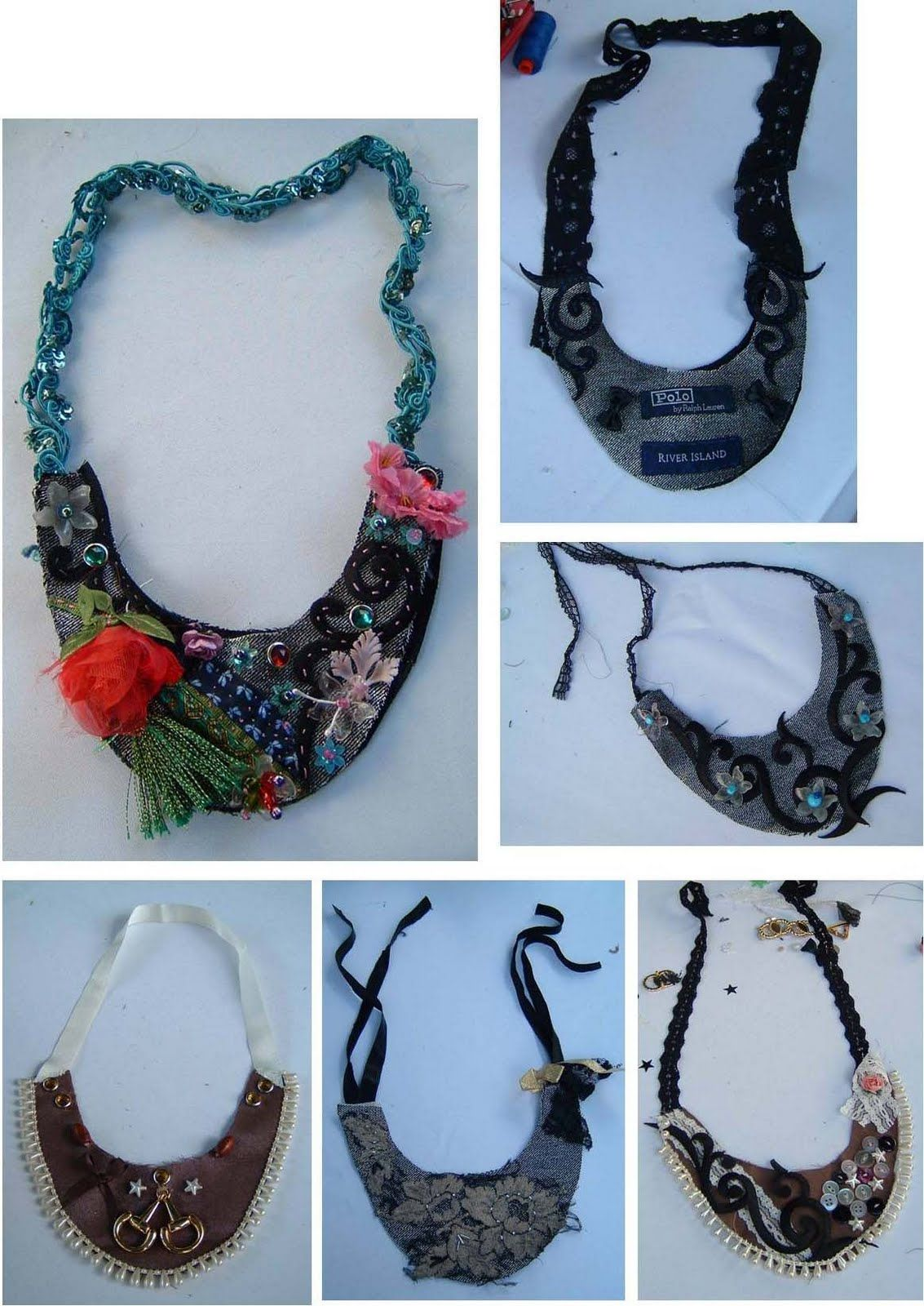 Up-cycled textile jewelry | My Style | Pinterest | Textile jewelry ...