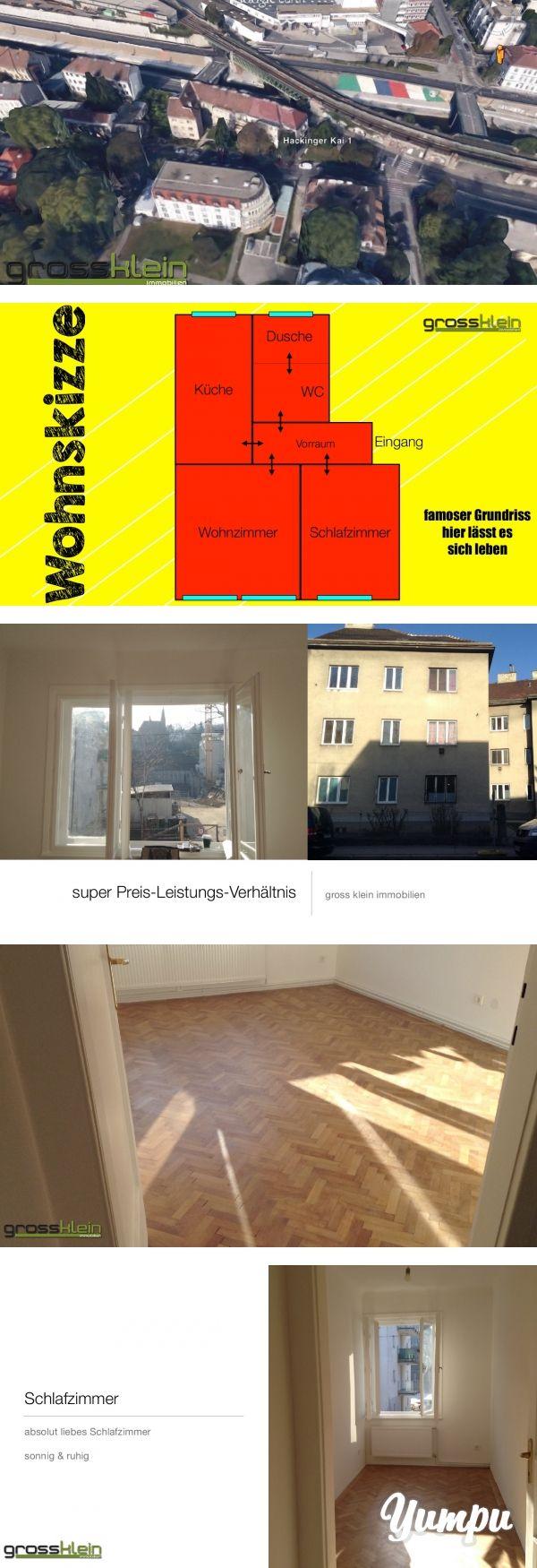 1130 - unglaublich Wohnung - 450 Euro Bruttomiete - zwei Zimmer - sehr sonnig - Magazine with 16 pages: Glücklich ist... der die Wohnung nimmt Tolles Preisleistungsverhältnis   Zwei(2)-Zimmerwohnung in ausgezeichneter Lage!    Die Wohnung liegt im ersten Stock (ohne Lift) und zeichnet sich nicht nur durch seine ausgezeichnete Lage aus , sondern auch durch seinen äusserst praktikablen GRUNDRISS aus, der folgende Räume bietet.   :-) Vorzimmer - alle Räume sind zentral zu begehen :-)…