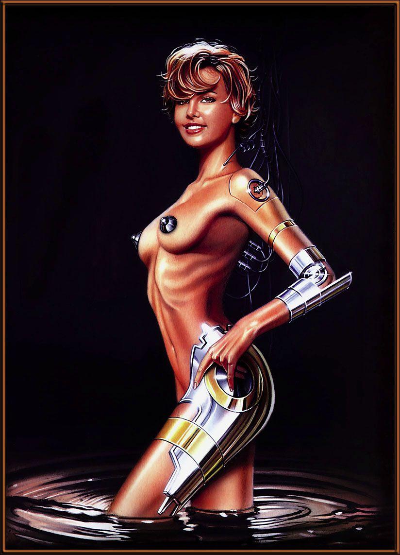 Рисунки роботов девушки голые, порно фильм через андроид