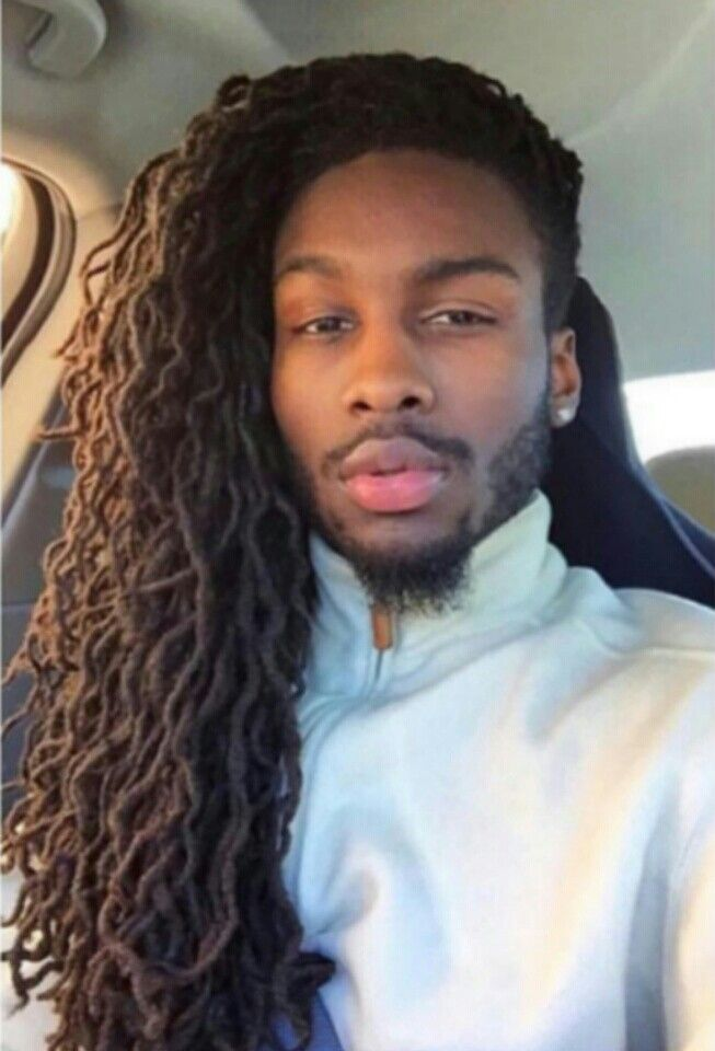 Men With Locs Black Hairstyles Pinterest Locs