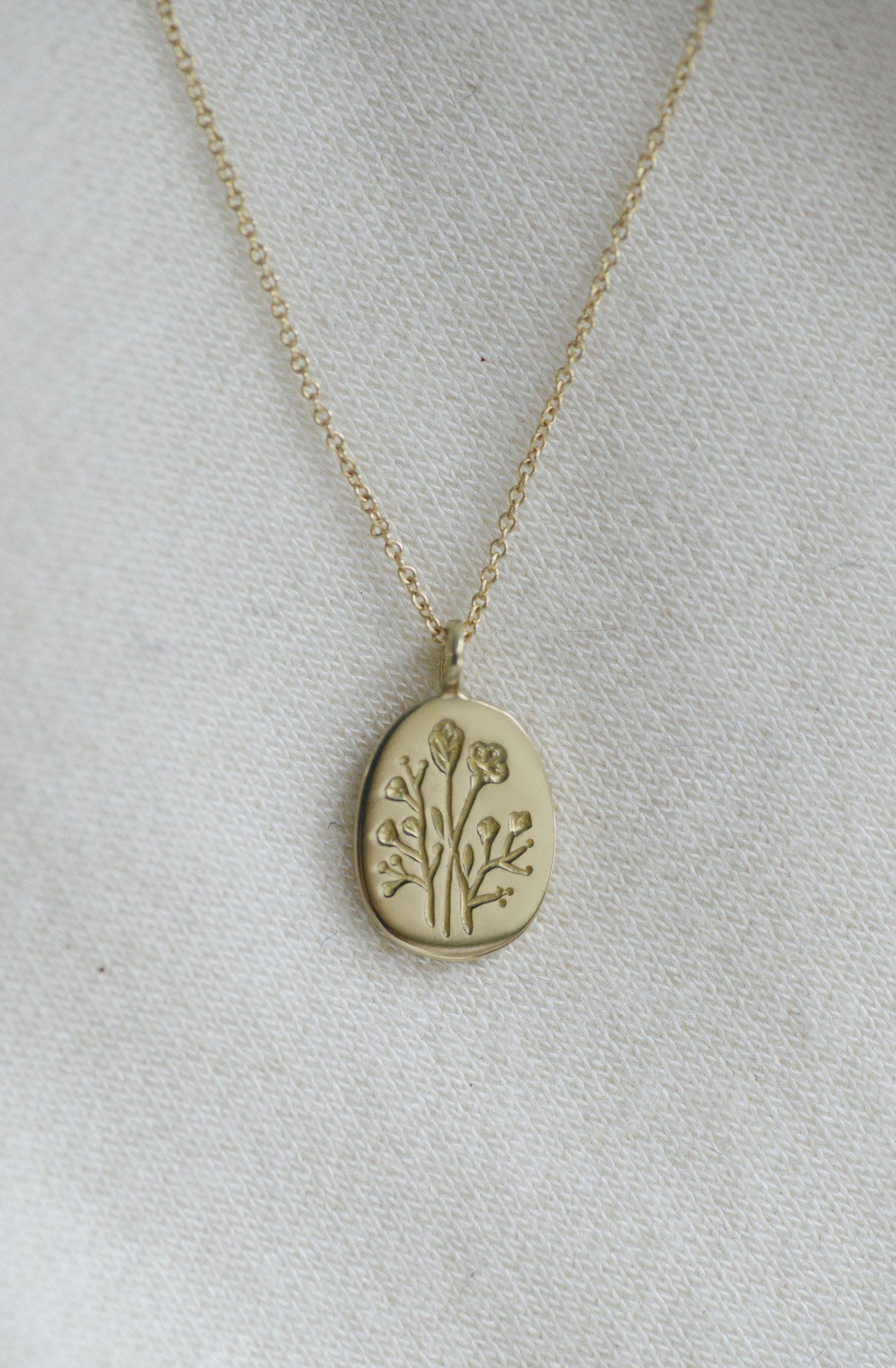 Wildflower Pendant — Claus Jewelry