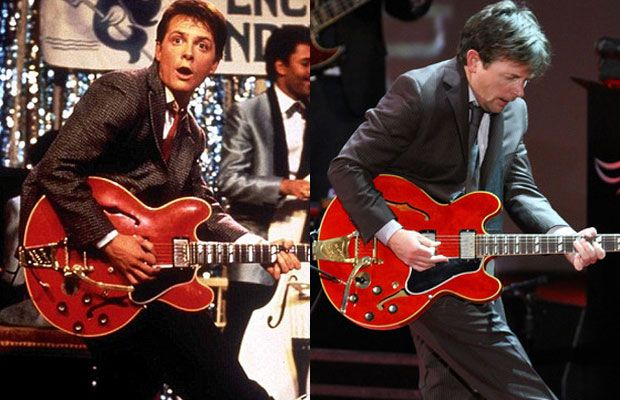 Michael J Fox Played Johnny B Goode At His Annual Parkinson S