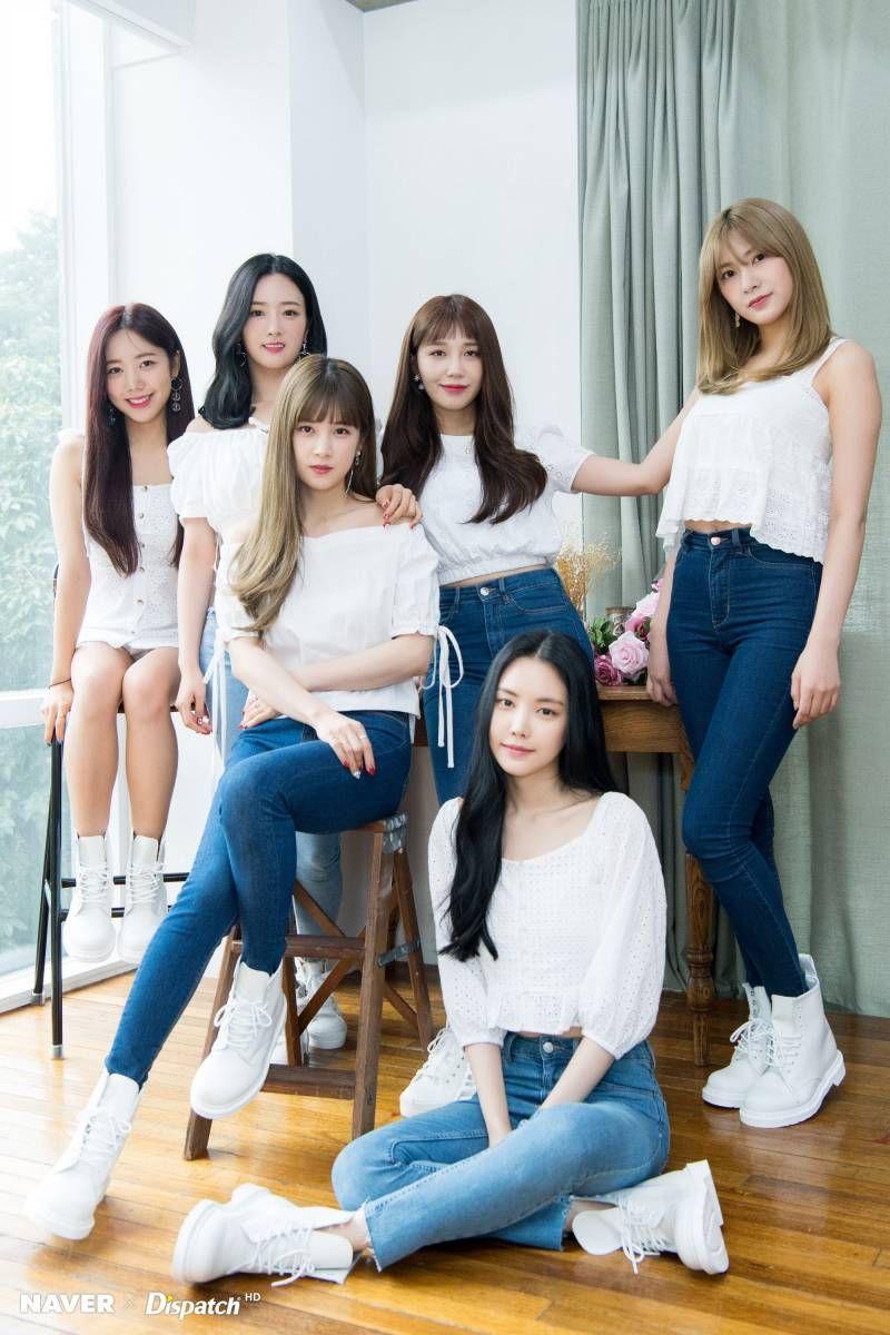 Apink One Six Promotion By Naver X Dispatch Six Girl Apink Naeun Kpop Girls