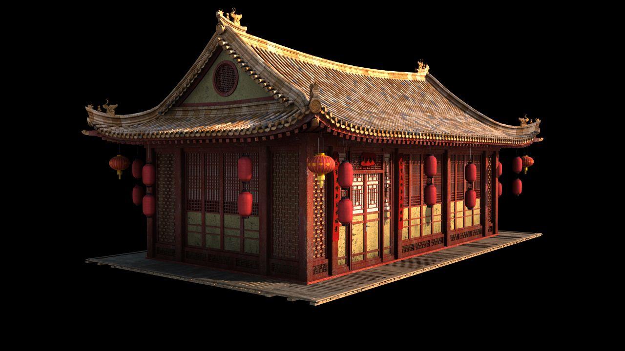 песочно-миндальный корж, китайский древний дом рисунки и фото лицо