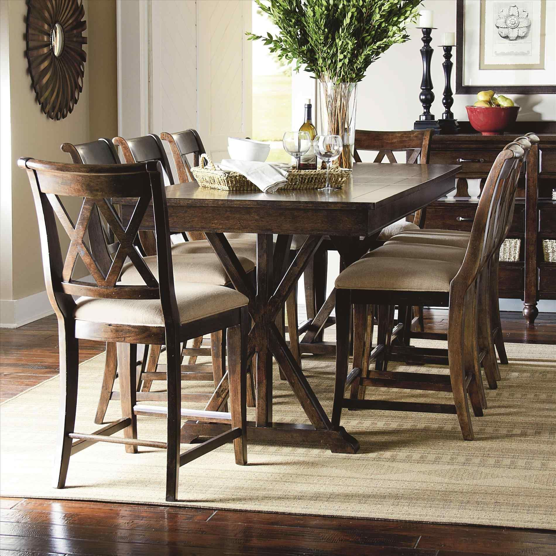 Room Table Seats 9 Room A Charming Wooden Piece Set In ...