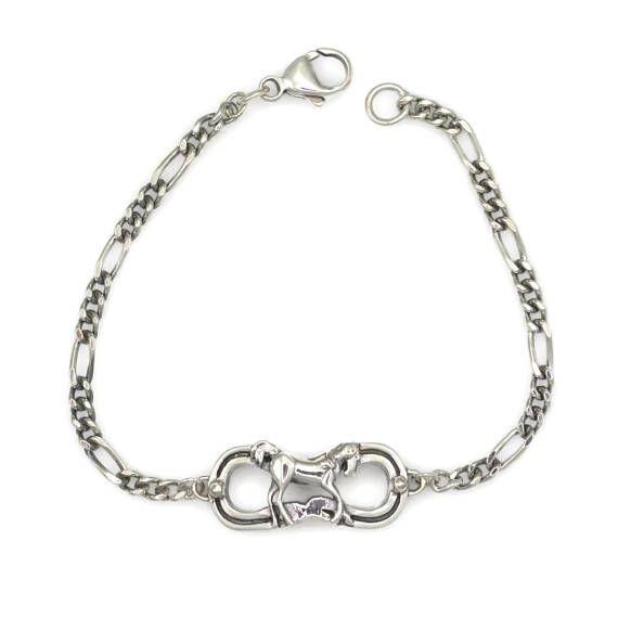 Sterling Silver Charm Bracelet Horse