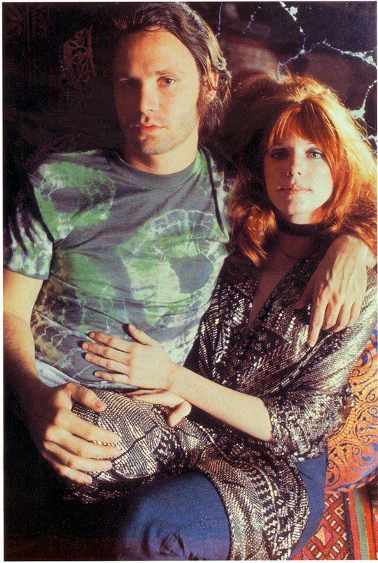 Jim Morrison and Pamela Courson | Jim morrison, The doors jim ...