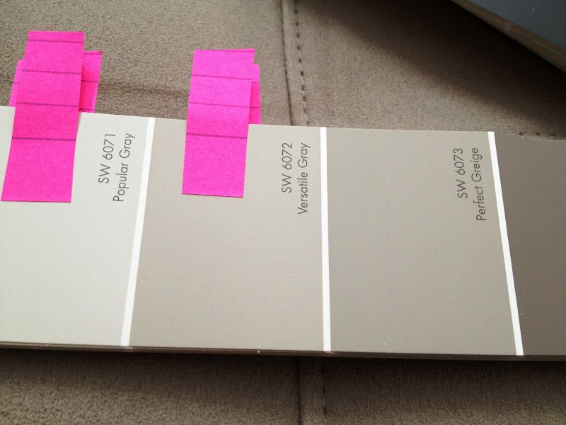 sw comparison versatile gray and perfect greige on behr paint comparison chart id=95992