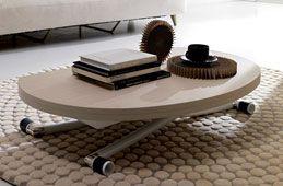 Mesa de centro convertible en mesa de comedor Moderna Apple   decora ...