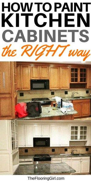 How To Paint Cabinets The Right Way Painting Kitchen Cabinets Diy Kitchen Cabinets Kitchen Cabinet Plans