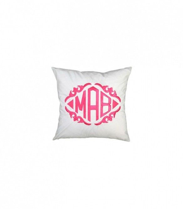 This Pretty In Pink Cake Shop Is Sweet Enough To Eat Step Inside Monogram Pillows Monogram Throw Pillow Throw Pillows Custom