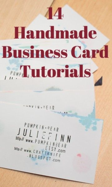 Want your creative business to have creative business cards to go want your creative business to have creative business cards to go with it check out this list of handmade business cards all made from eco friendly colourmoves