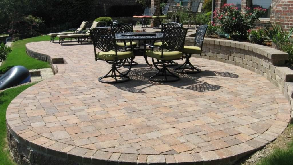 Stunning Simple Patio Ideas With Pavers Best Patio Paver Designs Home  Design Lover