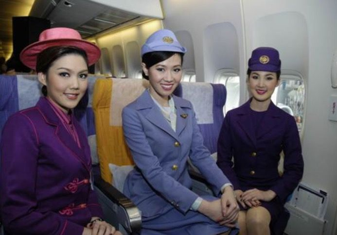 Thai airways international is celebrating its 50th anniversary by indulging in some nostalgia the star alliance carrier plans to relive its first flight operated to hong kong on 1 may 1960 on 1 may 2010 it will fly a boeing 747 400 freshly painted in