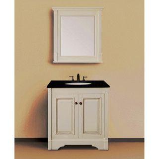 Single Sink Ivory White 30Inch Bathroom Vanity With Natural Captivating 30 Bathroom Vanity With Drawers Design Decoration