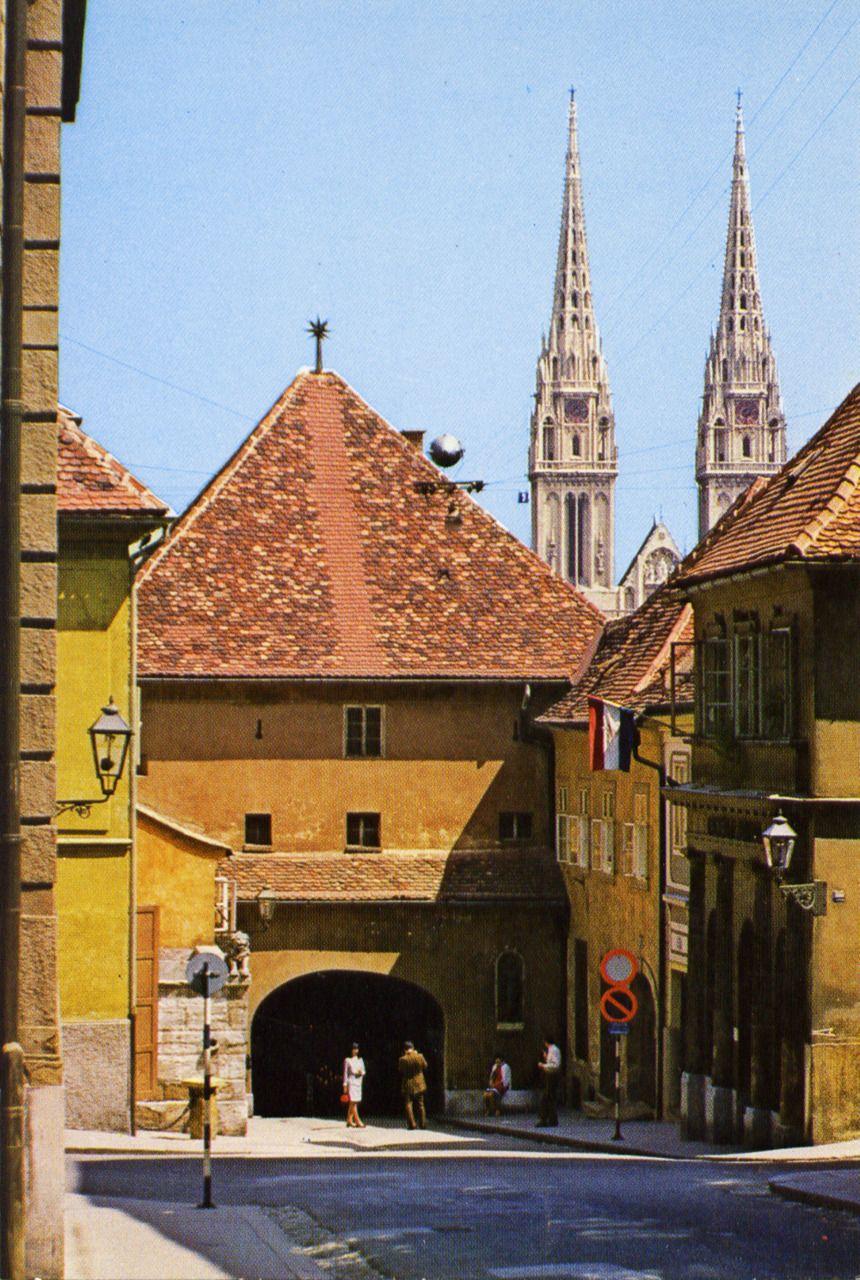 Zagreb Upper Town 1987 Zagreb Croatia Zagreb Dubrovnik Croatia