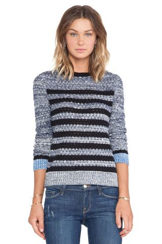 SHAE Basketweave Stripe Pullover in Navy Combo from REVOLVEclothing, How would you accessorize this? http://keep.com/shae-basketweave-stripe-pullover-in-navy-combo-from-revolvecloth-by-corri-mcfadden/k/1-3by1gBK1/