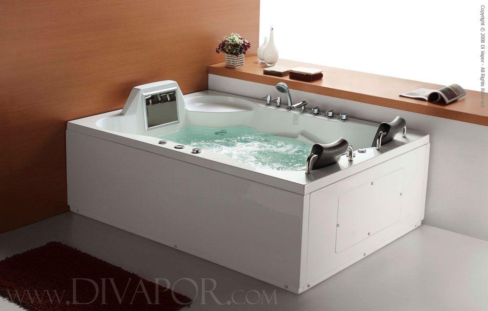 spa tubs for two | Whirlpool Bathtub - Luxor | Spas | Pinterest ...