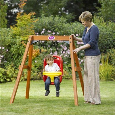 outside swings for babies direct swings slides and seesaws swings plum wooden baby. Black Bedroom Furniture Sets. Home Design Ideas