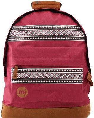 a55526fef72 Mi-Pac Nordic Backpack - Burgundy | Backpacks | Kids backpacks ...