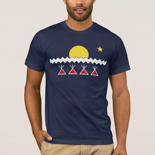 Athabascan T Shirt Flag Native American Indian Indians Tribe
