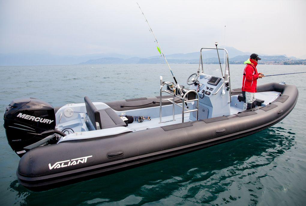 Valiant Sport Fishing 760 Embarcaciones Fibra Lanchas Motoras