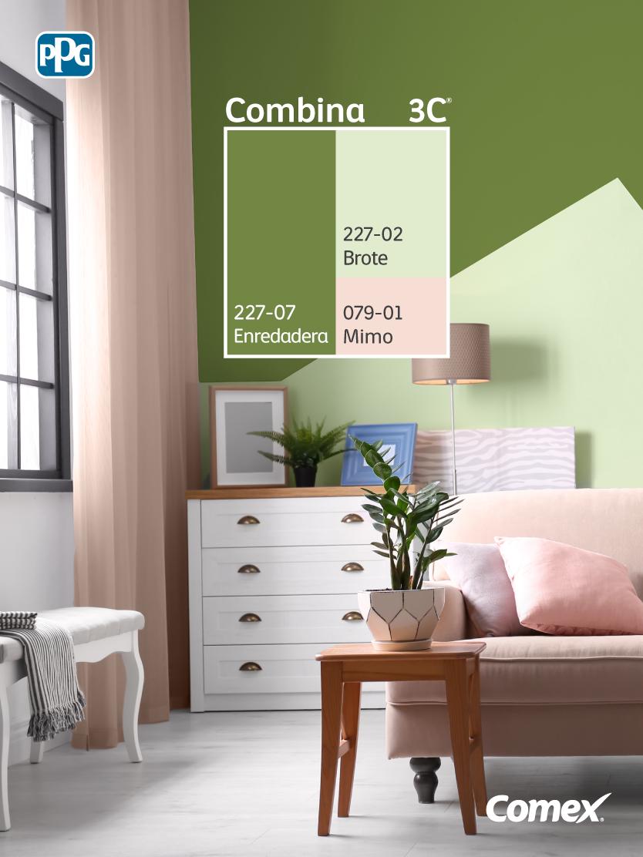 Encontrar La Combinacion Ideal Es Facilisimo Con Nuestro Sistema Combina3c Selecciona 3 Decoracion De Muros Colores De Interiores Consejos De Decoracion