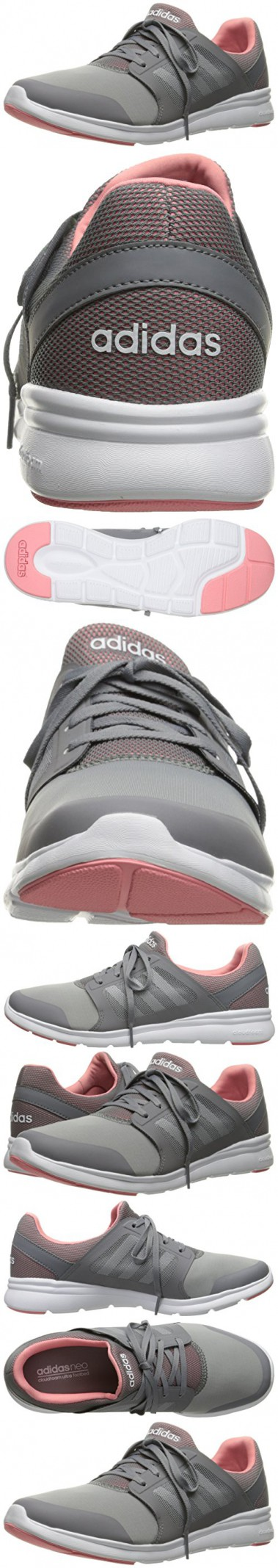 adidas cloudfoam women's grey