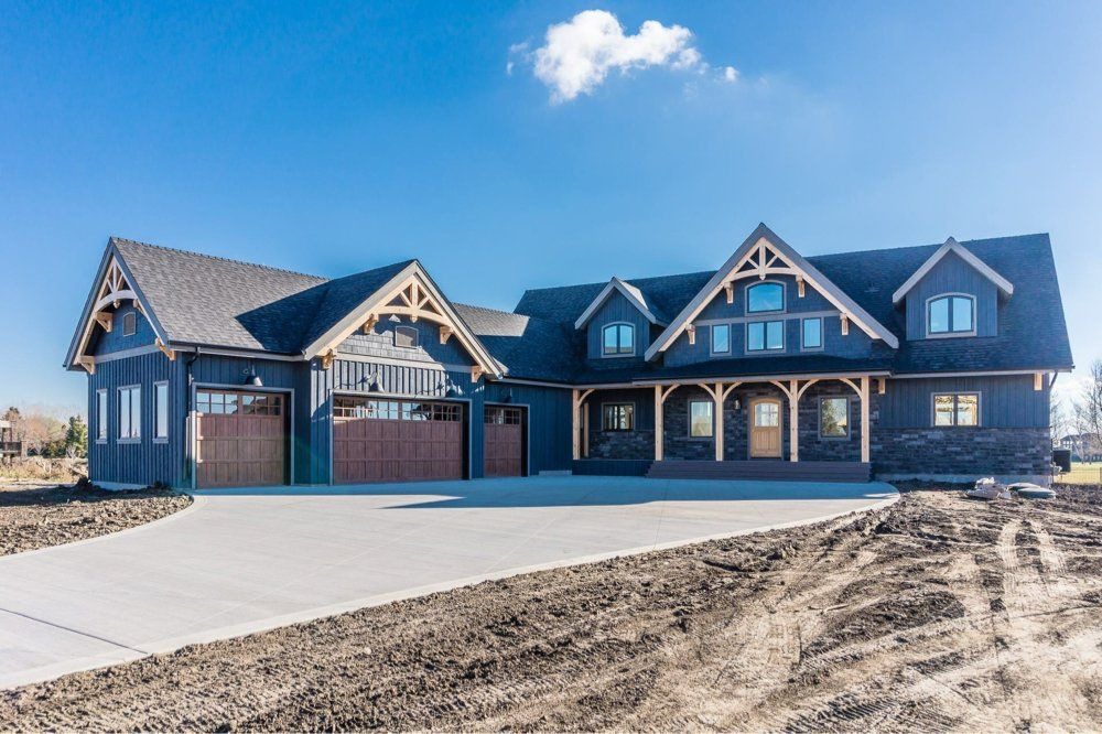 Ranch house dream home pinterest ranch house and for Timber frame ranch homes