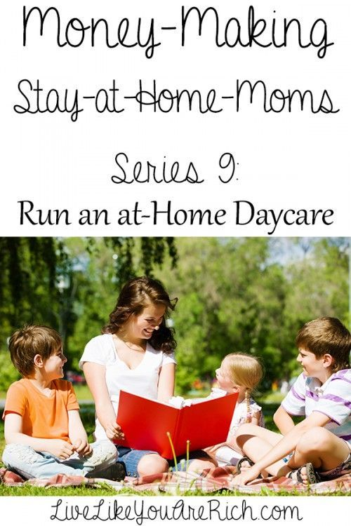 how to make money by starting an at home daycare pinterest