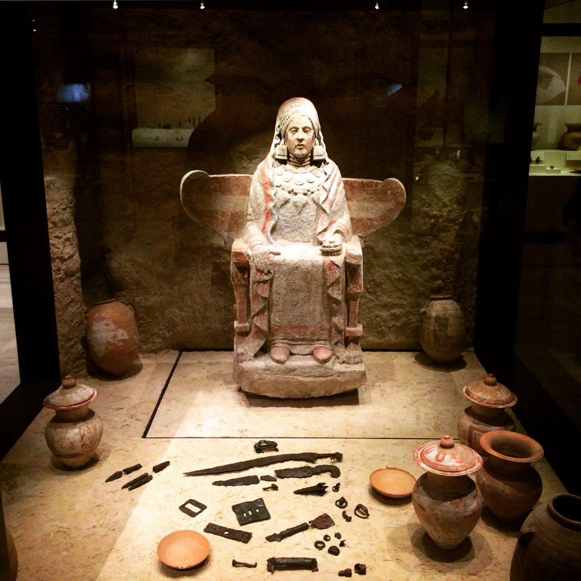 Spain Iberia Archaeo. Iberia. Pre-roman -dama
