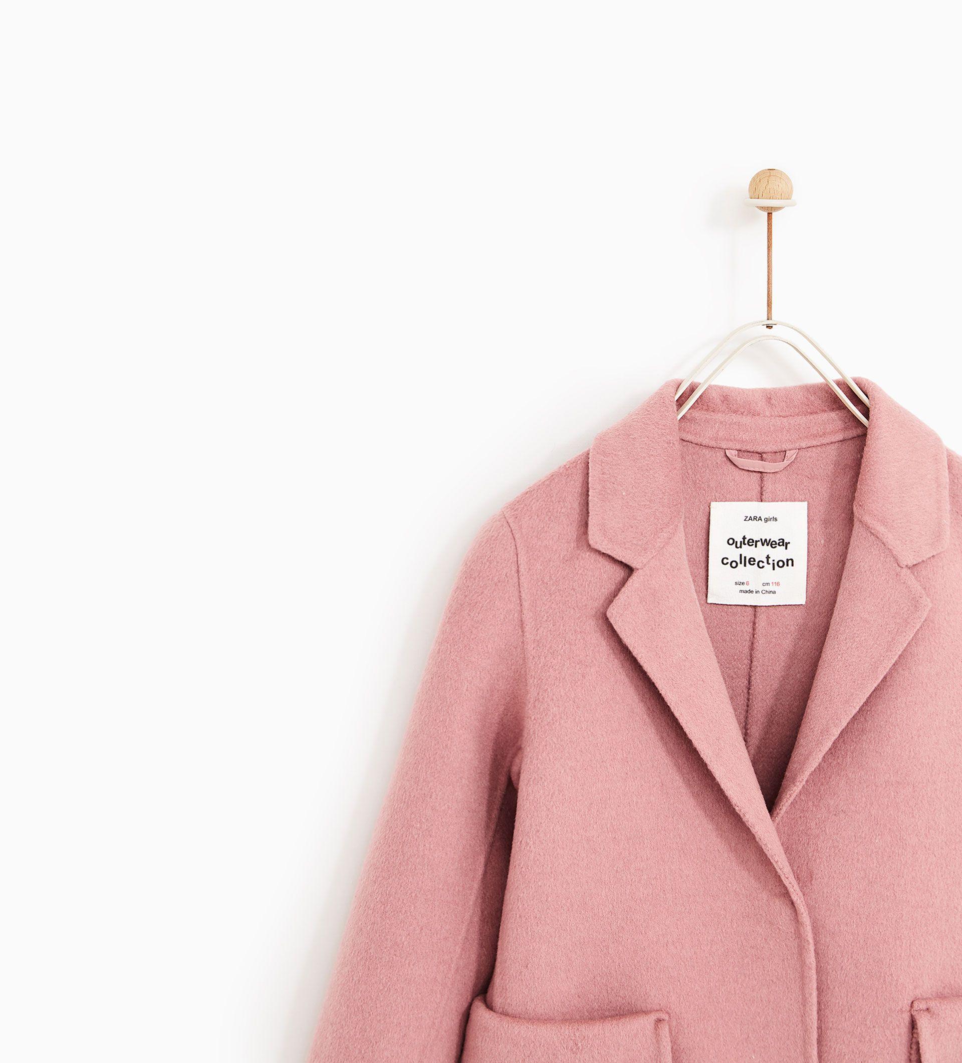 Bild 5 Von Maskuliner Mantel Von Zara Modestil Madchenmode Mantel Jacke