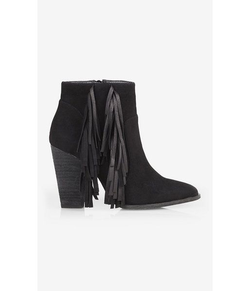 Fringed Bootie - L'Express